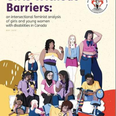 Cover art for Girls Without Barriers: an interview with DAWN Canada