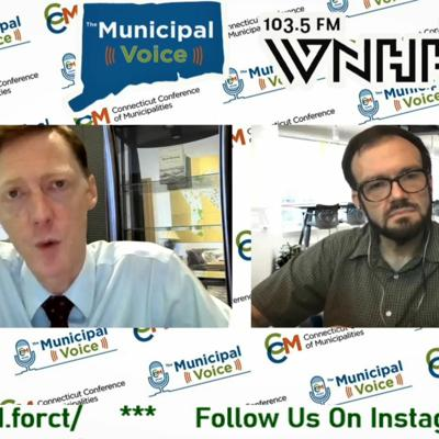 Cover art for The Municipal Voice W- Mayor Justin Elicker