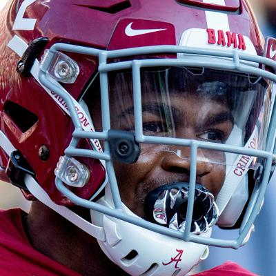 Cover art for Keilan Robinson in transfer portal, shake-ups on Bama's roster, most underrated players under Saban