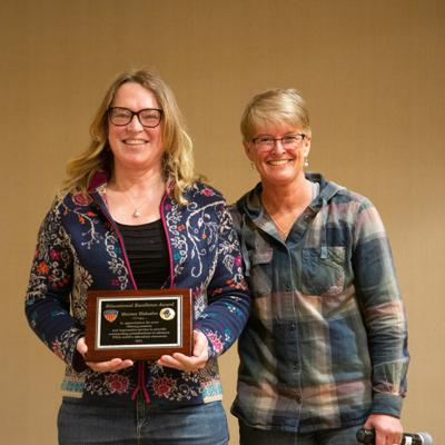 Cover art for 05.24.21:  Mermer Blakeslee Receives PSIA-AASI's Education Excellence Award