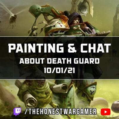 Cover art for Painting and Chat about Death Guard