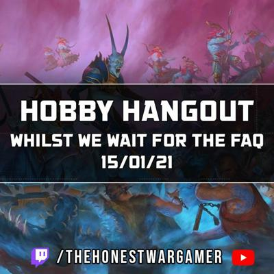Cover art for Hobby Hangout whilst we wait for the Winter FAQ