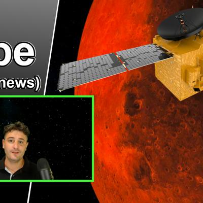 Cover art for UAE launches Hope probe | What are the Mars mission objectives? (Al Amal)