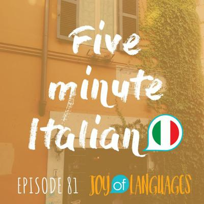 Cover art for #81: How to talk about lunch and dinner in Italian