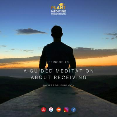 Cover art for # 48: A GUIDED MEDITATION ABOUT RECEIVING