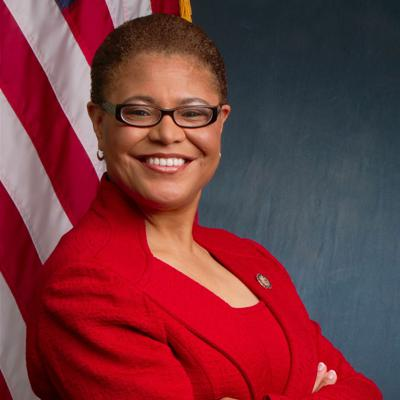 Cover art for 21. Pat Merloe & Congresswoman Karen Bass on Democratic Governance and COVID-19