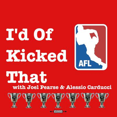 AFL banter, politics and 'culture' hosted by comedians Joel Pearse and Alessio Carducci.