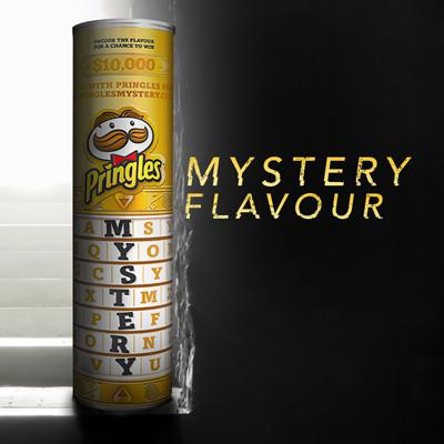 Pringles Mystery Flavour