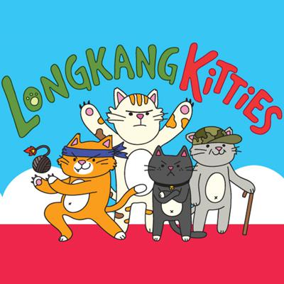 LongKangKitties is an entertainment podcast where 3 guys and a gal who barely know each other get into intense arguments about social-political subjects, particularly in Singapore.