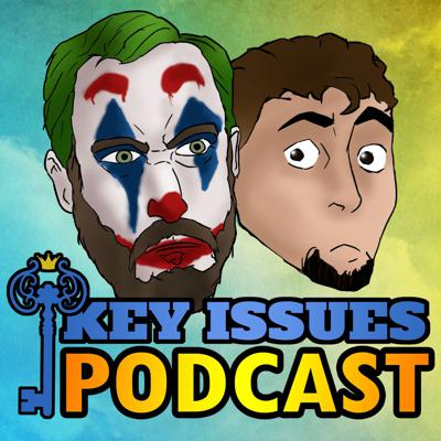 Join Key Issues! For all the comic book news and updates required to keep you cool. Each week, Nick and Garrick will offer you an entertaining glimpse into the current comic book world, offering their own unique and alarmingly accurate opinions on currents events in the industry, interviews with authors, artists, and publishers of well known comics, reviews, and regularly hosting cool and incredibly expensive giveaways in an effort to buy your love when all else fails.