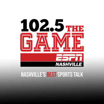 We are ESPN Nashville - 102.5 The Game & 94.9 Game 2.  Two Sports Stations under one roof! Follow us for the best sports talk in Nashville, Flagship of the Nashville Predators, the SEC, and the country. We are ESPN Nashville.