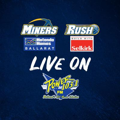 Miners and Rush players on Power 103.1FM