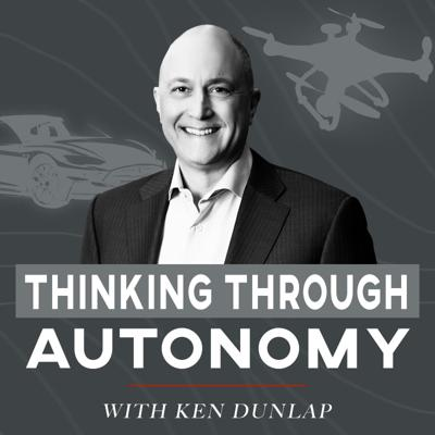 Understand the promise and impact of autonomous vehicles on our world through the stories and expertise of the visionaries delivering this revolution. Each episode features an in-depth dive into a key aspect of how driverless cars and drones operate, touch our lives and the environment. Hosted by the fully autonomous, Ken Dunlap, who is also known for leading global security tech initiatives featured in the pages of the New York Times, Washington Post, and Los Angeles Times.