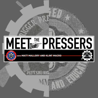 """""""Meet The Pressers"""" is the industry's newest show - hosted by Matt Mallory and Klint Macro. The guys, and their fellow trigger pressing guests, discuss firearms and self-defense education, products, and accessories - as well as faith, politics, and political activism. Officially listed on IMDb as a talk-show,  airing weekly in both video as well as audio only formats, the show is sponsored by giants in the industry and fans of the show.  """"Meet The Pressers... It's the best name in firearms podcasting as far as I'm concerned."""" ~ Rob Pincus"""