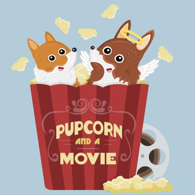 Pupcorn And A Movie