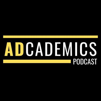The ADcademics Podcast = A beginner's guide to advertising.  ADcademics is designed to help current & future advertisers better understand the ad industry. The show features one-on-one interviews given from a student's perspective. Interviews focus on learning and discussing the many departments within an agency/company, positions within those departments, advice for job searching, and much more. Guests include current industry professionals employed at some of the top agencies around. Interviewees offer first-hand advice and tell real-life stories about their experience transitioning from college into the advertising/marketing industry.  The show is hosted by ad agency intern and recent university graduate, Justin D. Barnette.  Follow the show on Instagram: @adcademics  Follow Justin on all social platforms: @justindbarnette  Interested in being a guest on the show? Email adcademicspodcast@gmail.com