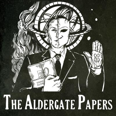 [AUDIODRAMA] Welcome to Aldergate University, a shadowy world of obsessive geniuses, masked strangers, hidden dangers, public nudity, and conspiracies that stretch across the centuries and around the globe.   Aldergate's ancient walls hide many secrets, and Sir Adrian Ward - a fugitive billionaire with a dodgy brain and a troubled past - would like to hide as well. When an old pal's severed legs are found practically on his doorstep, however, it's clear his troubles may just be getting started...