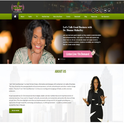 Let's Talk Good Business with Dr. Dionne Mahaffey