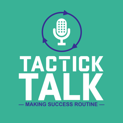 TactickTalk is the only podcast that gets to the heart of routines.  Today's fast-paced world has us all looking for simple, measurable, repeatable steps that will help our business, family, and personal lives run better, with less frustrating. wasted effort, and with more consistent, lasting results. TactickTalk gives you exactly that through Tactick™ and Organized Routines™.  In each episode, we talk about the many ways people are experiencing the power of Organized Routines™ in their business, family, and personal lives. Plus, we give you tactics you can implement immediately after listening to each podcast. It's a highly actionable show that's as engaging as it is valuable.  About Dave:  An avid routinizer, Dave Rasmussen is the Co-founder of Tactick™, the intuitive recurring tasks software built on Organized Routines™. A successful business owner, fitness enthusiast, and happily married father of three, Dave is passionate about helping people find simple, powerful ways to get — and stay — more organized, accountable, and successful in their business, family, and personal lives.
