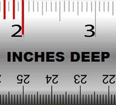 3 Inches Deep