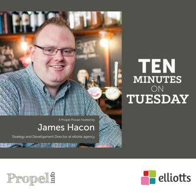 10 Minutes on Tuesday with James Hacon