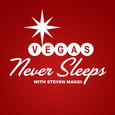 Experience the excitement and energy of Las Vegas each weekend on VEGAS NEVER SLEEPS with Steven Maggi.  Listeners across the country and around the world will enjoy this weekly romp to Las Vegas, the capital of fun, food and entertainment. For the latest Vegas news and a look behind the scenes of world-class hotels, dining, gaming, special events and conventions, turn to VEGAS NEVER SLEEPS with Steven Maggi! Hear about those things that only happen in Vegas, as well as how this oasis in the desert has transformed into a visitor's paradise welcoming over 42 million tourists each year.