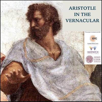 This podcast explores the vernacular reception of Aristotle and his works in Renaissance Italy as part of the ERC-Funded Vernacular Aristotelianism project (PI: Marco Sgarbi) at the University of Warwick (UK), and at the University of Ca' Foscari in Venice (Italy). The podcast is produced, recorded, edited, and hosted by Dr. Bryan Brazeau, a member of the project at the University of Warwick. For more on the project and the podcast: http://www.tiny.cc/ercaristotle