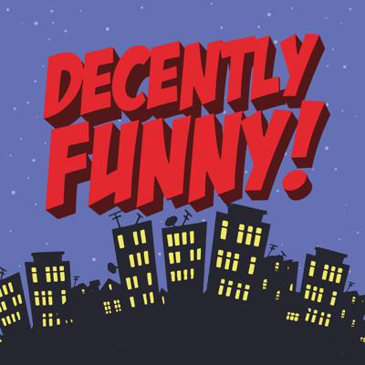 """Decently Funny is a weekly pop-culture based interview podcast created by broadcasters/producers David """"Nuzzy"""" Nussbaum and Guy"""