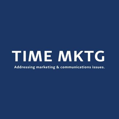 Time Mktg - Addressing marketing and communication issues.