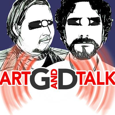 G and D discuss their world of art & include artists of all kinds as a special guest. D is nice & G is a bit of a jag-off. Somehow it works.