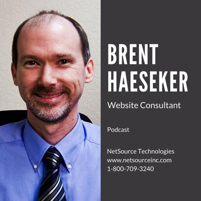 I am a website consultant with NetSource Technologies. I have been with NetSource since 2000, helping businesses succeed online. This podcast is where I share my development and online marketing experience and knowledge with you.