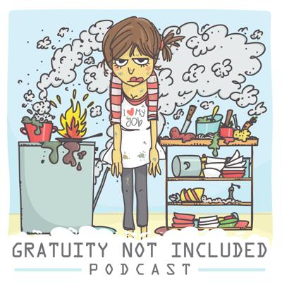 Gratuity Not Included is a Podcast about what it's like in the service industry. We talk about horrific experiences with customers (you know the ones that want you to bring 5 sides of ranch, one by one), and all the other conflicts we have to deal with while on and off the clock. Hosted by Whitney Thomas & Alicia Phillips.