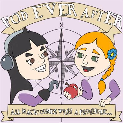 Pod Ever After is a podcast devoted to re-watching and discussing the TV show Once Upon a Time. Hosted by @starlessness and @the-reason-to-sail-home on tumblr. You can expect a lot of profound observations, silly jokes, and love for our favorite fairy tale show.