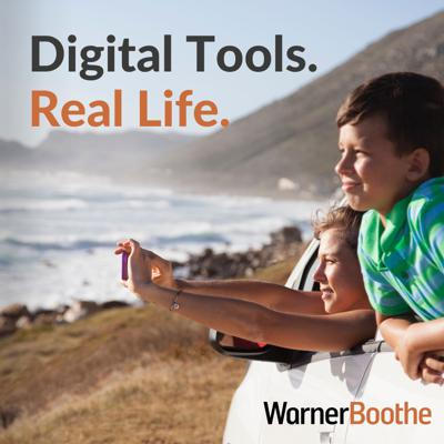 Digital Tools. Real Life. The official podcast of WarnerBoothe. Exploring the emerging connections between who we are, how we live, and the technology that powers our world. Hosted by Cynthia Collier and Paul Walstad.