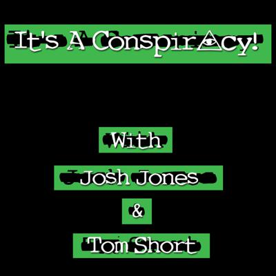 Cover art for It's a conspiracy! Episode 11 - Flat earth