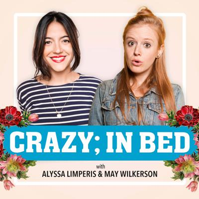 May Wilkerson and Alyssa Limperis are best friends, stand-up comedians, and crazy – clinically speaking, and just regular speaking.   Join them each week to discuss mental health, popular culture, and more — live from inside the quarantine. They invite comedians, journalists, artists, doctors (thank god) and more to join them each week and help shine a light on the things people usually keep hidden. This podcast will be more fun than hanging out in person, promise.  Theme music by Emily Lynne with additional music by Brendon Clark.  Produced by Anosh McAdam and UCB Comedy.