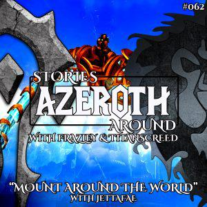 """Cover art for """"Mount Around the World"""" – with Jettafae (SAA #062)"""