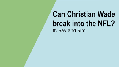Cover art for Can Christian Wade Break Into The NFL? – Linebreak Rugby Podcast #47