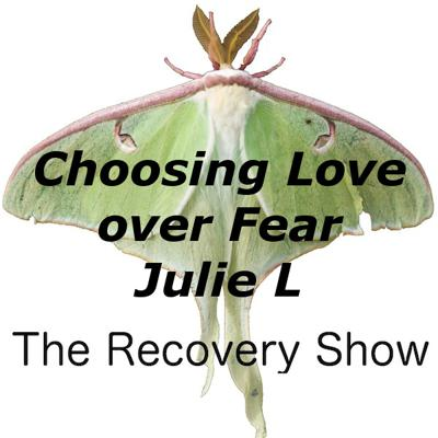 Cover art for Choosing Love Over Fear One Day at a Time – Julie L – 331