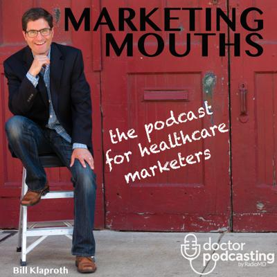Marketing Mouths is a podcast series for healthcare marketers by healthcare marketers. Conversations with hospital marketing directors, digital marketing experts, social media pros, IT specialists, PR people, Physician Relations pros, and other interesting people that operate, or help those that operate, marketing and related departments at hospitals all over the U.S. You'll learn and share and have a little fun at the same time. Don't miss the soon to be infamous