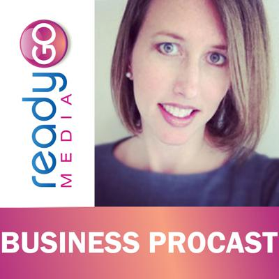 Cover art for ReadyGo Media's Business ProCast with Maureen Webb, Co-founder of Project Limelight Society
