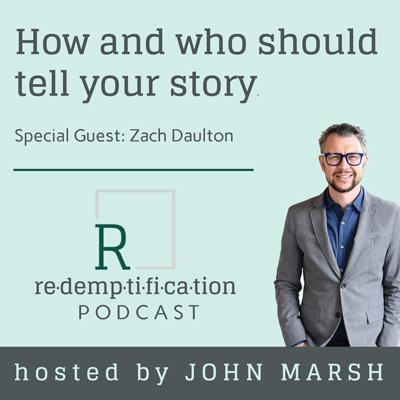 Cover art for How and who should tell your story with Zach Daulton