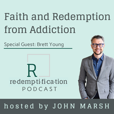 Cover art for Faith and Redemption from Addiction