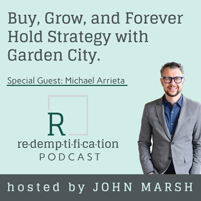 Cover art for Buy, Grow, and Forever Hold Strategy with Garden City