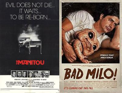 Cover art for Episode 122 – The Manitou & Bad Milo