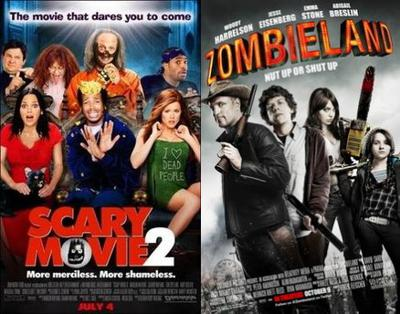 Cover art for Episode 129 – Scary Movie 2 & Zombieland