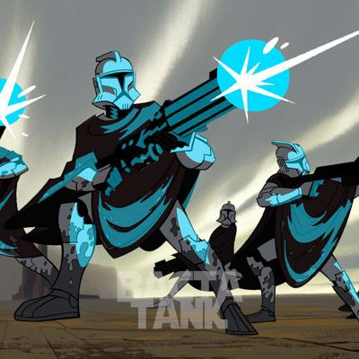Cover art for From The Bacta Tank: Star Wars: Clone Wars (2003) Season 1