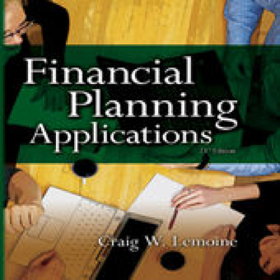 HS 333 Video: Personal Financial Planning: Comprehensive Case Analysis