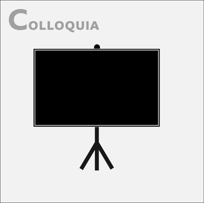 Colloquia from science leaders and technology innovators