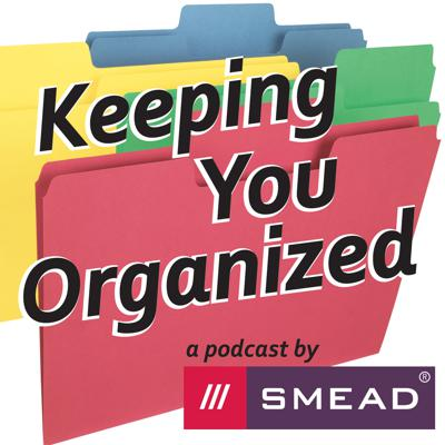 Cover art for The Upbeat, Organized Home Office - Keeping You Organized 296